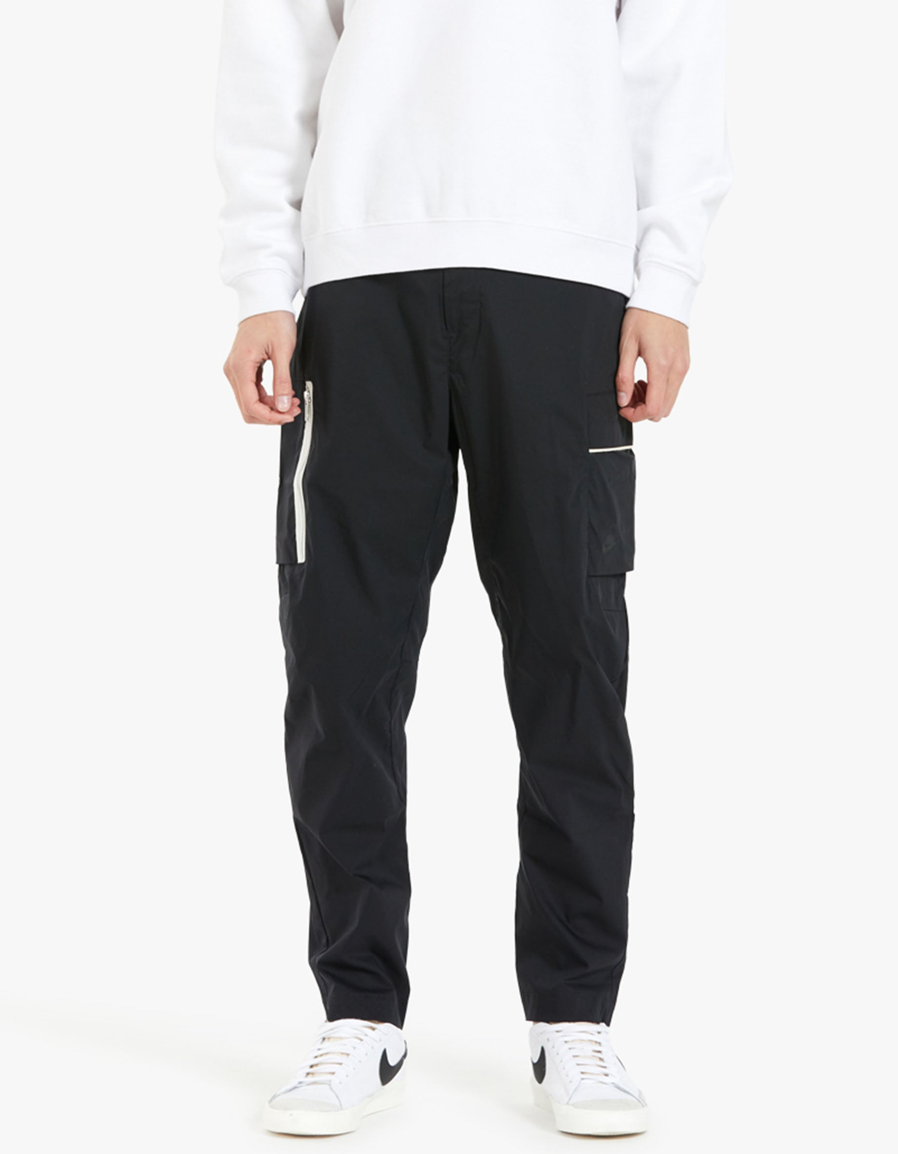 Mens Woven Unlined Utility Pants - Black/Sail/ice Silver/Black