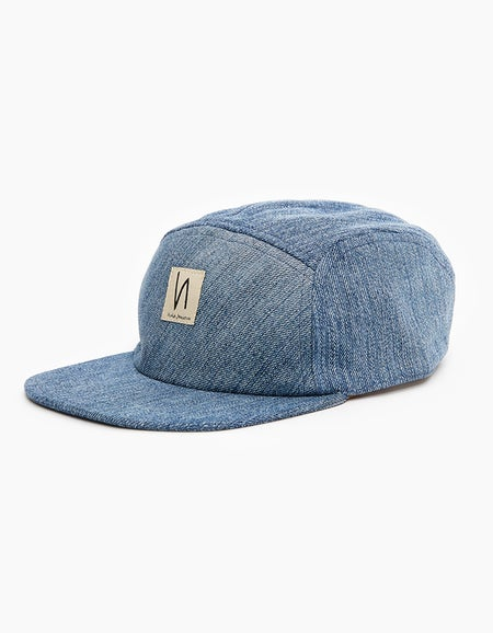 Larsson Recycled Cap - Denim