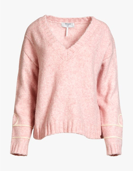 Off Duty Knitted Sweater - Pink
