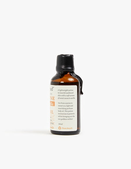 Sunshine Body Oil Cocoa & Vanilla - Black