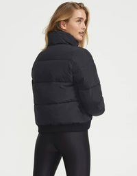Ramp Run Puffer Jacket - Black