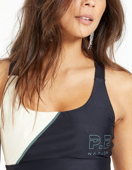 Bounce Out Sports Bra - Pearled Ivory