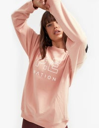 Heads Up Sweat - Coral Pink
