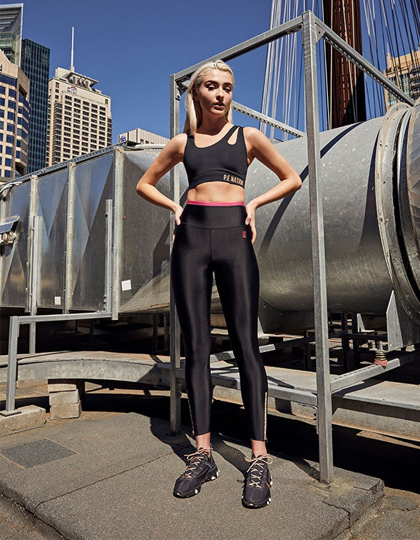 Steady Run 7/8 Legging - Black