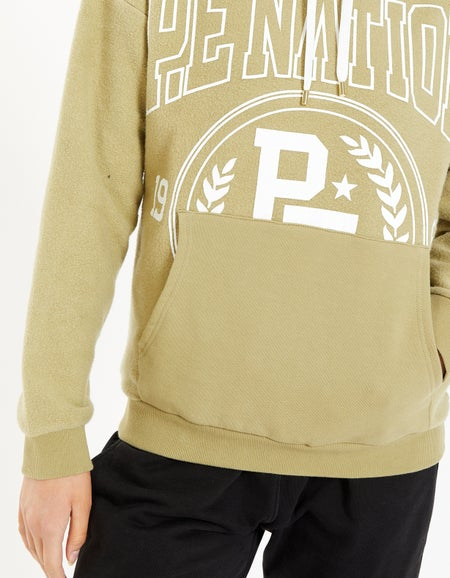 Lay Up Hoodie - Olive Gray
