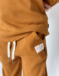 Ribbed Luck Trackies - Taffy
