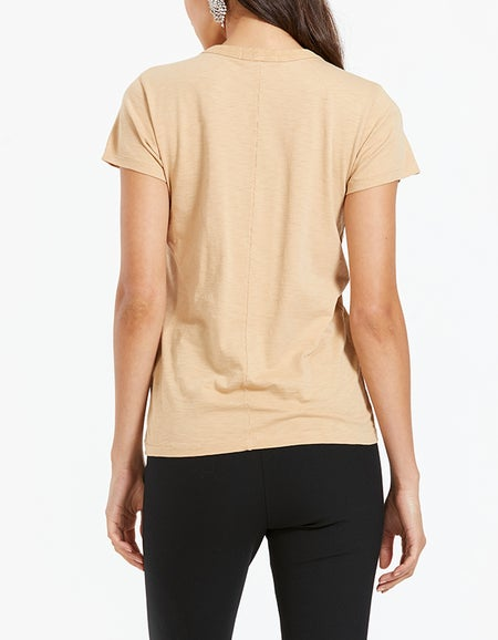 The Slub Tee - Soft Brown