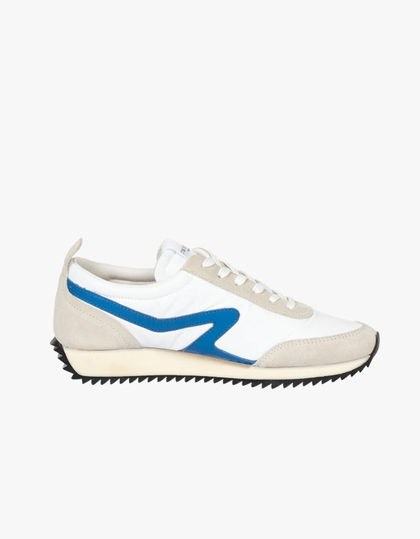 Retro Runner - Off White/Blue