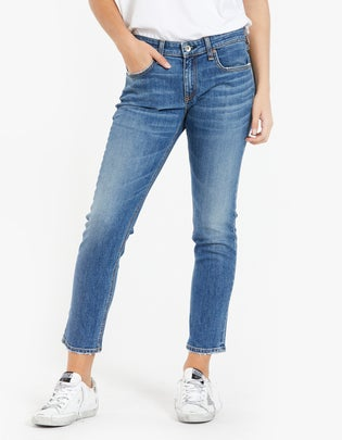 Dre Low Rise Slim Boyfriend