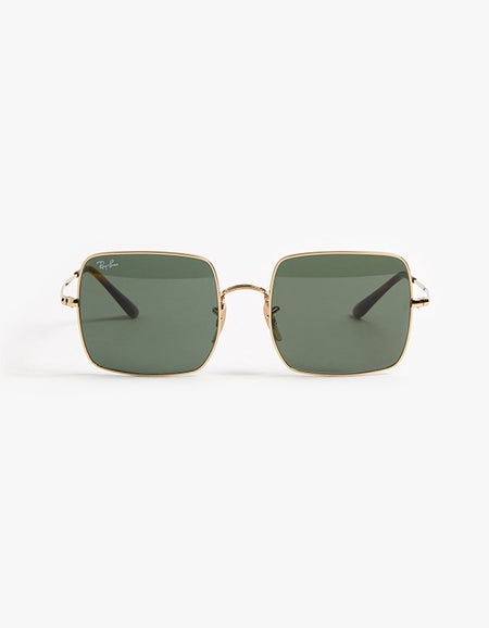 Square - Gold/Green
