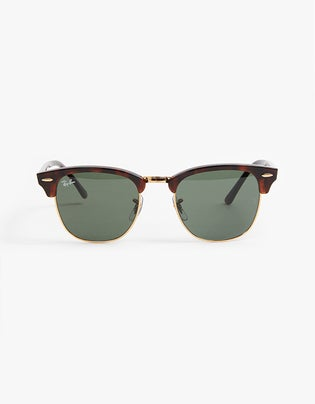 Clubmaster - Tortoise/Arista Crystal Green