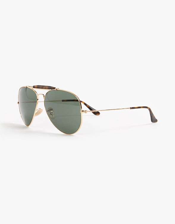 Outdoorsman II - Tort/Gold/Crystal Dark Green
