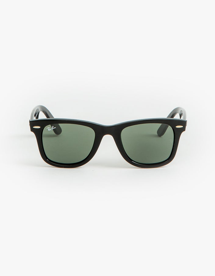 Wayfarer - Black/Crystal Green - 50