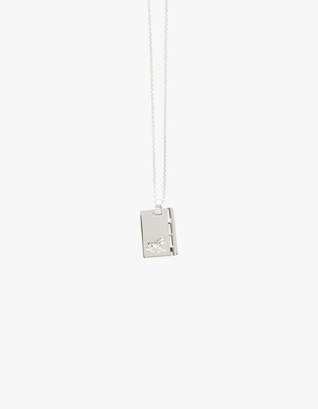 Star Sign Leo Pendant - Silver