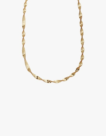 Mark My Words Chain - Gold Filled
