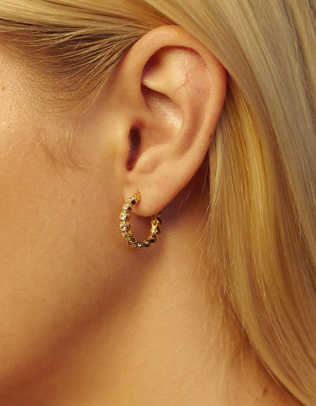 Rococo Earrings - Gold Plated