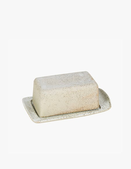 Butter Dish - White