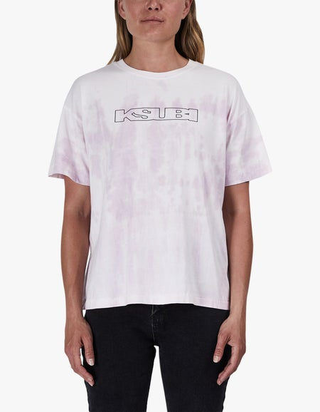 Sign Of The Times S/S Tee - Pink Dye