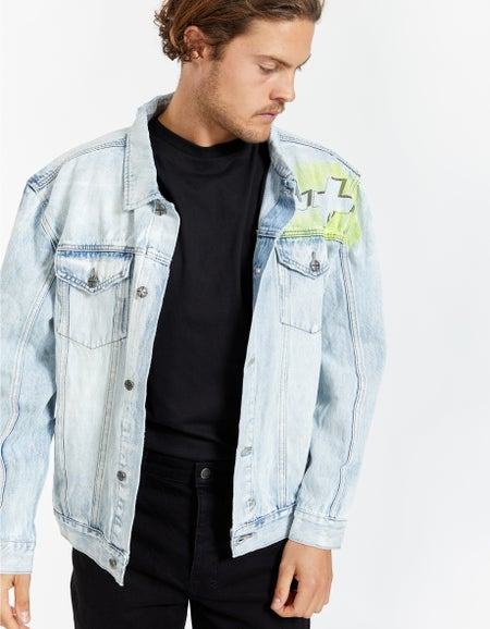 Oh G Jacket - Stoked Neon
