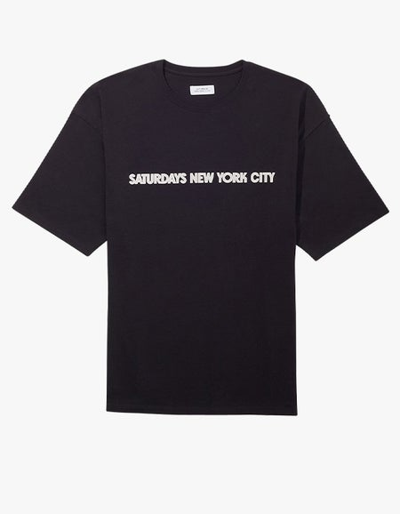 Surf Spot Relaxed S/S Tee - Black