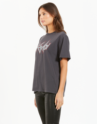 Backstage Oh G SS Tee - Charcoal