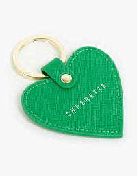 Heart Eye KeyChain - Black