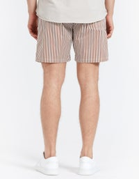 Weekend Short - Navy Stripe