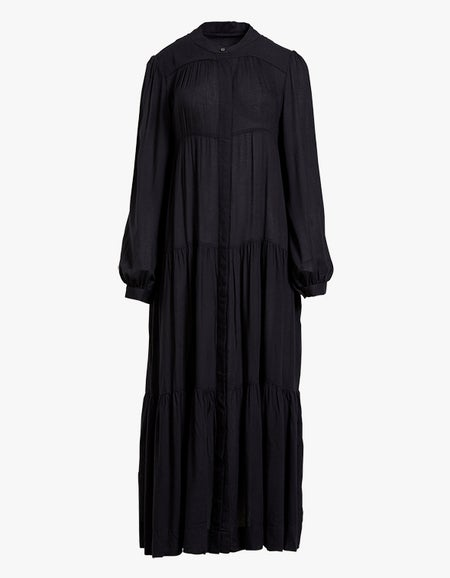 Kent Maxi Dress - Jet Black