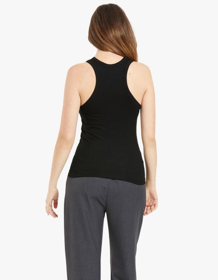 Out of Office Tank - Black