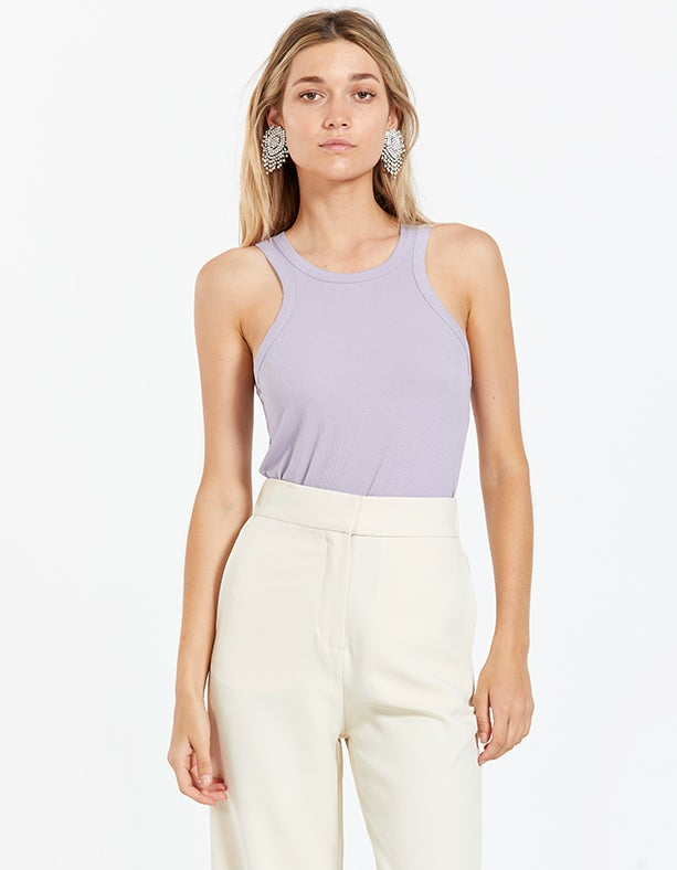 Out of Office Tank - Lilac