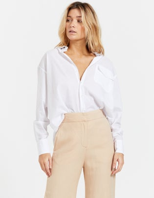Boyfriend Pocket Shirt