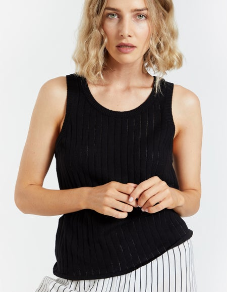 Griffith Tank Top - Black