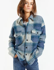 Huntaway Jacket - Blue Check