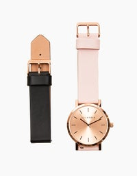 The Original Watch Gift Pack - Rose Gold/Blush Leather/Black Leather
