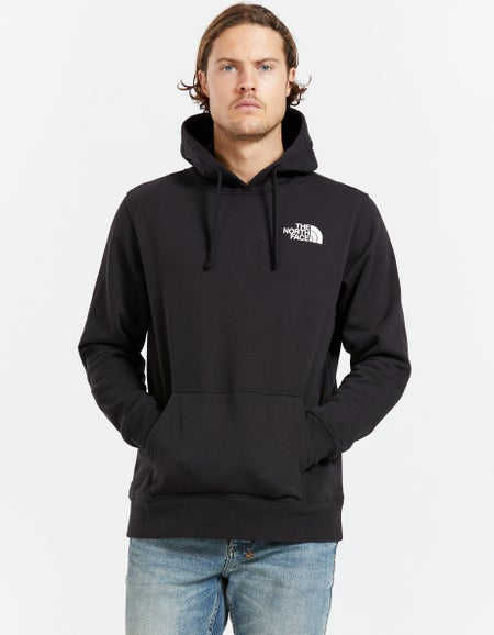 M Red Box Pullover Hood - Black/Red