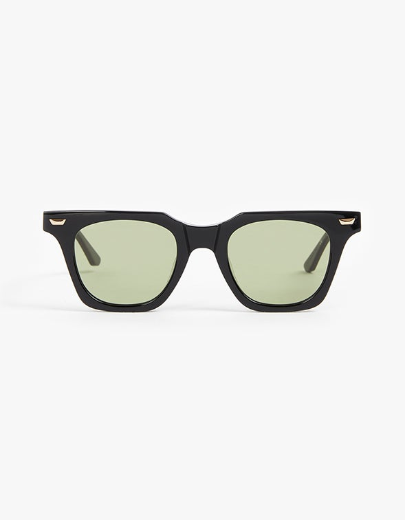 Valley x Dylan Kain - Gloss Black/Olive Green Lens