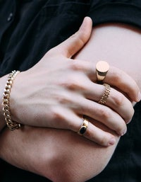 Rey Ring - Gold Plated