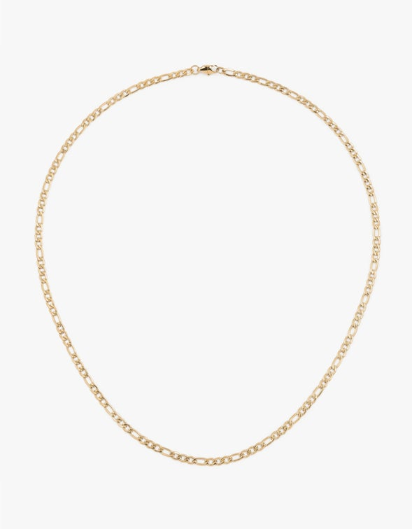 Figaro Chain Necklace - Gold Plated