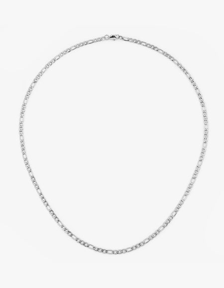 Figaro Chain Necklace - Stainless Steel