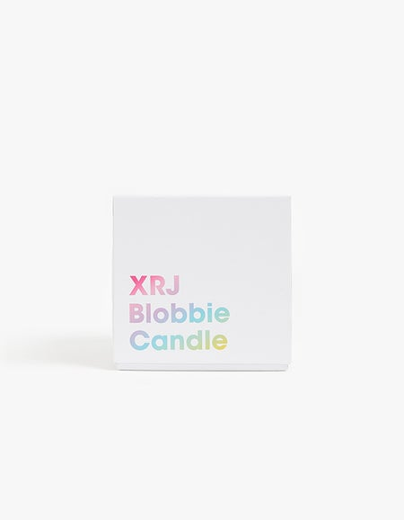 Blobbies Bloomer Candle - White