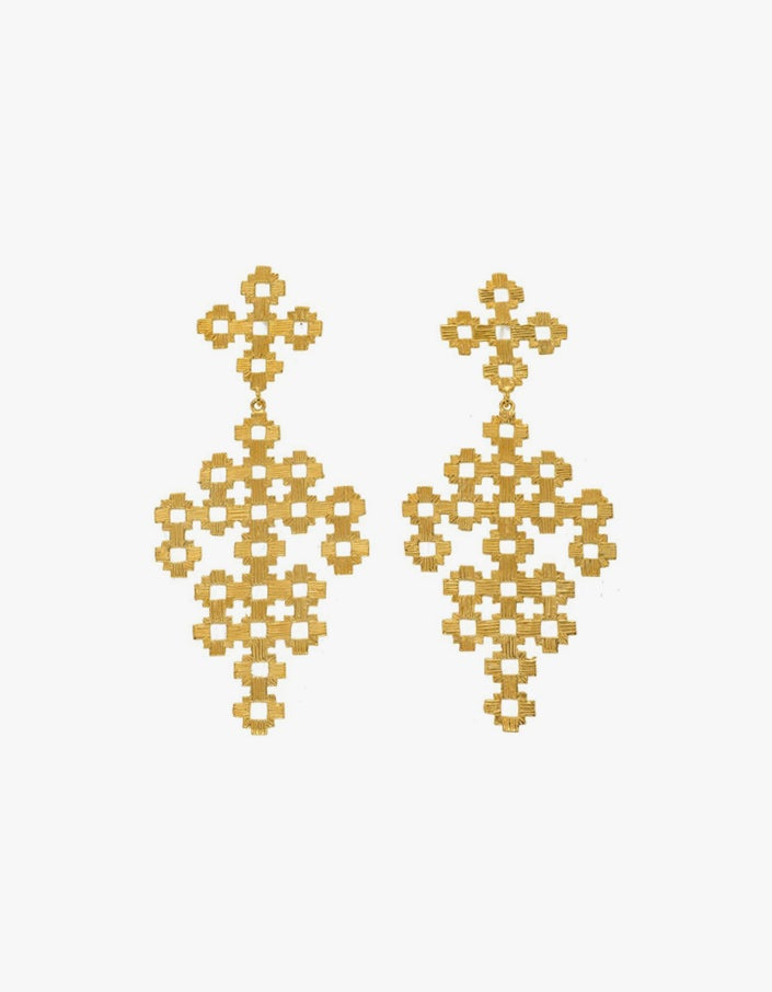 Chimi Earrings - Gold Plated